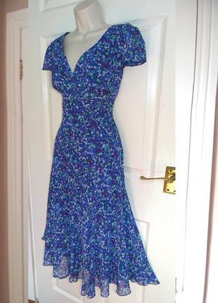 Распродажа платье per una/marks & spencer миди расклешенное c asos