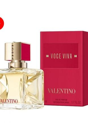 Парфюмированная вода valentino voce viva(новинка 2021 г)