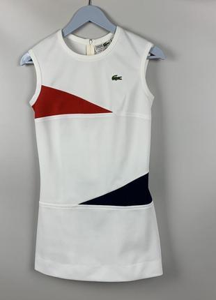 Теннисное платье lacoste