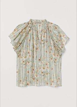 Милая блуза отhm в цветочки