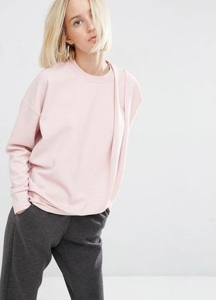 Нежный свитер m&s пудрового цвета, р. 24.