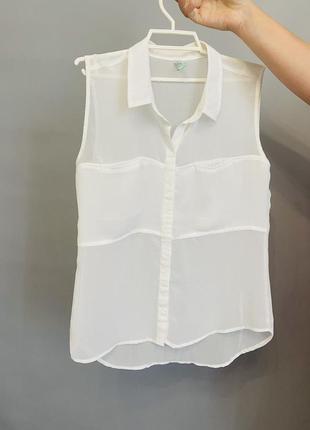 Летняя нарядная блузка