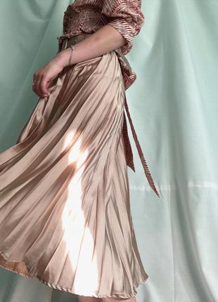 Плиссированная юбка missguided