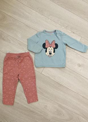 Спортивний костюм кофта штани набор комплект disney baby