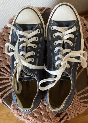 Конверсы converse кеды синие низкие оригинал