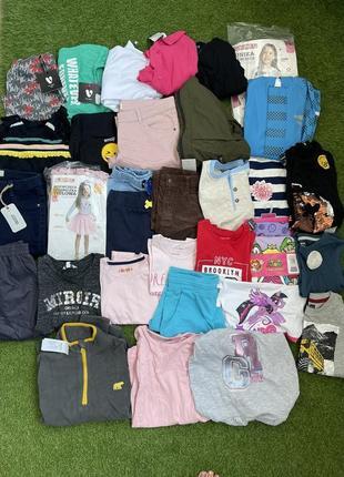 Лот микс брендов сток детской одежды