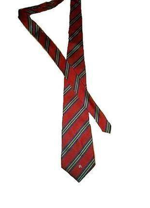 Burberry фирменный галстук
