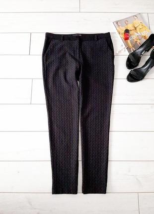 Лаконичные стильные фактурные брюки_slim