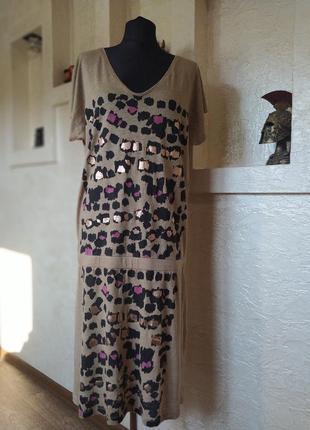 Платье лён kookai