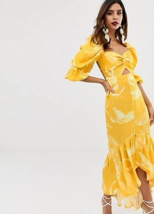 Натуральное платье