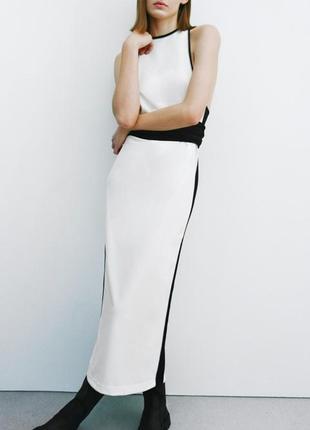 Стильное платье от zara