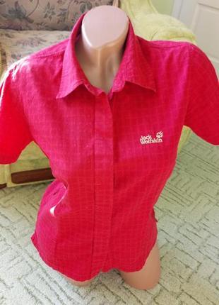 Брендовая женская рубашка. короткий рукав