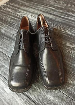 Туфли мужские, кожа натуральная, 46 размер luca ferri