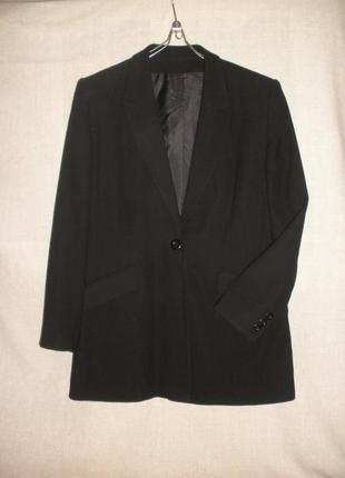 Длинный жакет пиджак классика richards для роскошной барышни
