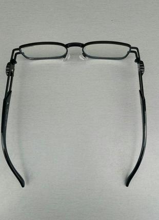 Versace очки имиджевые оправа для очков унисекс в черной металлической оправе5 фото