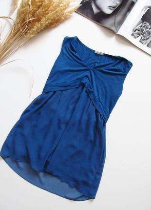 Шифонавая блуза / вискоза/ майка/ состояние идеальное 💕