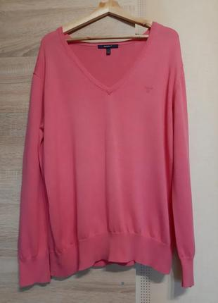Gant батал брендовый женский пуловер xxxl