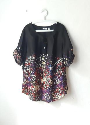 Легкая хлопковая блуза