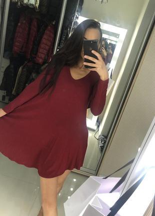 Красивейшее свободное платье