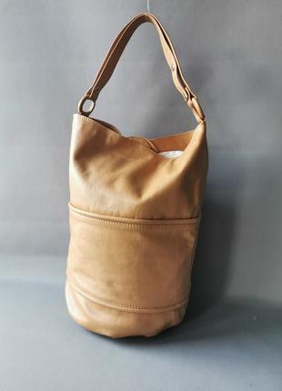 Кожаная сумка tatiana pelleterie. италия