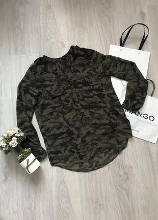 🌷камуфляжная блуза рубашка