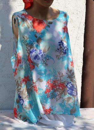Воздушная блуза, туника janina