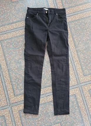 Штаны джинсы черные