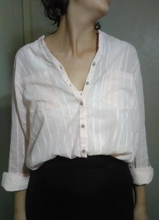 Рубашка блузка блуза оверсайз прямая свободная хлопок воздушная лёгкая прозрачная пляжная пляж