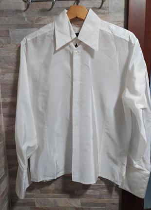 Рубашка шелковая