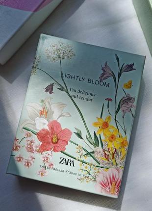 Духи zara lightly bloom 30 ml