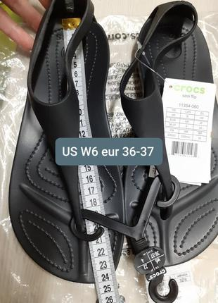 Crocs sexi flip, w6 eur 36-37