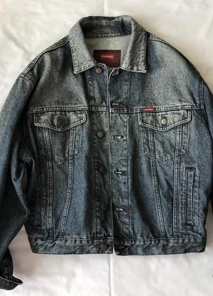 Куртка джинсовая carrera 🇮🇹 . винтаж. италия.
