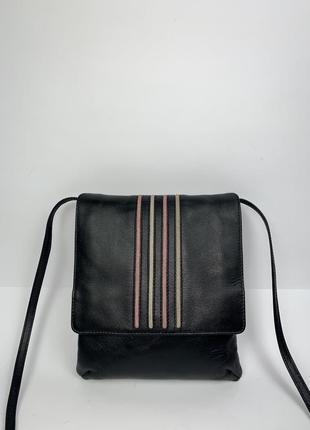 Англия! кожаная фирменная сумочка на/ через плечо jane shilton.