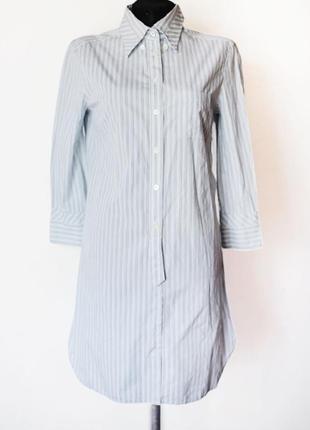 Платье рубашка max mara sportmax в полоску