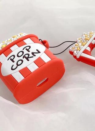 Крутой чехол для наушников airpods, попкорн 🍿5 фото