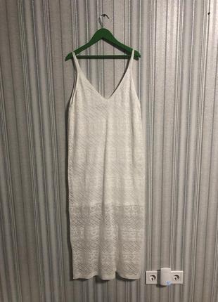 Платье белое primark