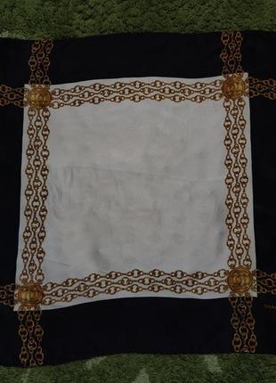 Оригинальный редкий шелковый платок chanel paris
