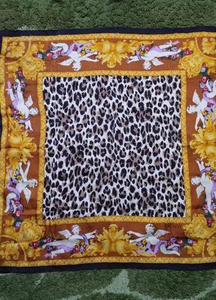 Оригинальный шелковый платок escada by margaretha ley