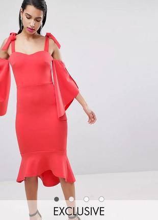 Миди-платье true violet bardot