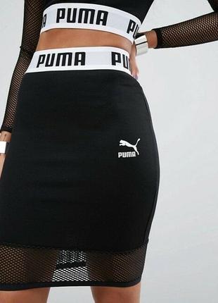 Спортивная юбка puma, размер s-xs2 фото