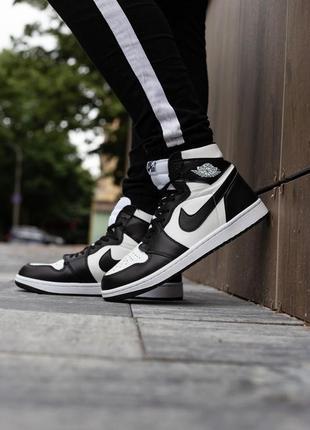 Женские высокие кожаные кроссовки nike jordan 1 retro high twist