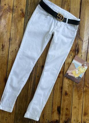 Белые штаны 👖 джинсы