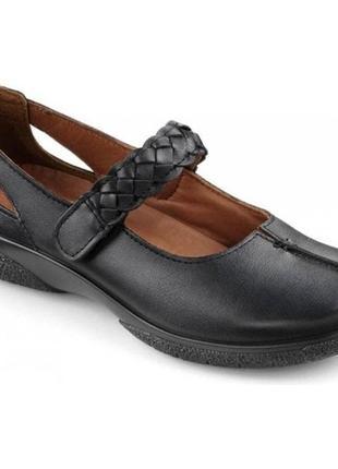 Кожаные ультракомфортные балетки туфли hotter