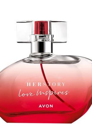 Парфюмированная вода herstory love inspires 50 мл