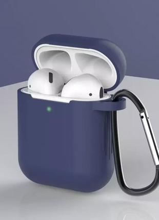 Силиконовый чехол для наушников airpods