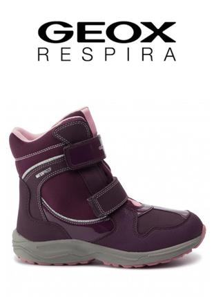 Geox ботинки сапоги зимние оригинал италия
