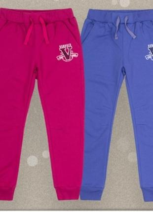 Спортивні штани джогери для дівчинки. бембі