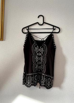 Блуза топ с декором нереальной красоты / большая распродажа!