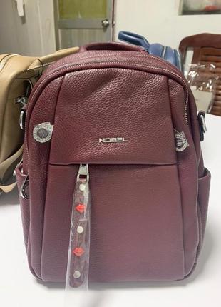 Кожаный рюкзак nobel, оригинал