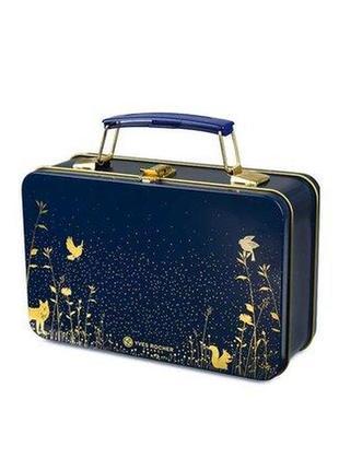 Подарочный сундучок yves rocher чемоданчик шкатулка косметичка ив роше